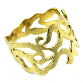 Gold-Plated Silver 925 Ring